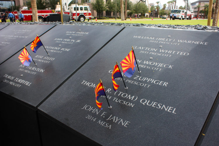 Finishing the Arizona Fallen Firefighter and Paramedics' Memorial with Rick DeGraw